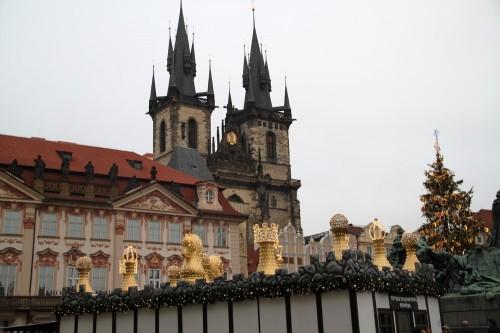 voyage,prague,république tchèque,praha,prag,noël,décembre,sapin,église,crèche